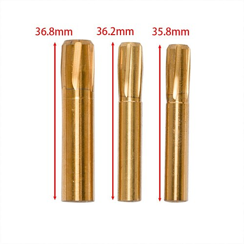 6 Flutes Spiral Reamer 5.5mm 5.56mm 5.6mm 6.35mm 7.62mm 11.43mm Helical Machine Chamber 5.5-11.43mm Button Rifling Reamer Tools