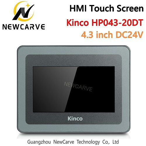 Kinco HP043-20DT PLC Programmable Controller HMI Touch Screen 4.3 Inch Human Machine Interface Newcarve