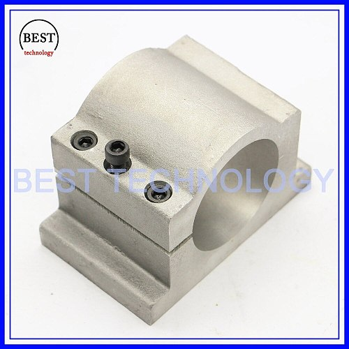 Diameter 65mm Cast Aluminium Clamp of cnc spindle motor spindle mount bracket clamp cnc machine tool spindle