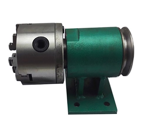 80/100 Lathe spindle assembly with flange connection plate transition plate 80/100 spindle three-jaw four-jaw chuck