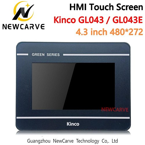 HMI Touch Screen Kinco GL043 GL043E 4.3 Inch Ethernet USB New Human Machine Interface Upgrade From MT4230T MT4230TE NEWCARVE