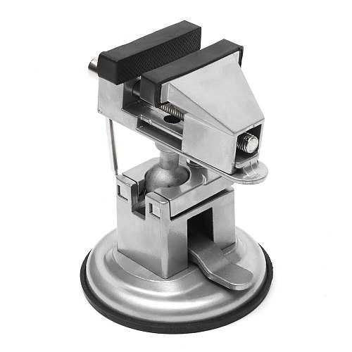 360 Degree Rotary Adjustable Table Vise Fixed Frame Sucker Clamp Adjustable Table Vise Rotatable Alloy Benchs New