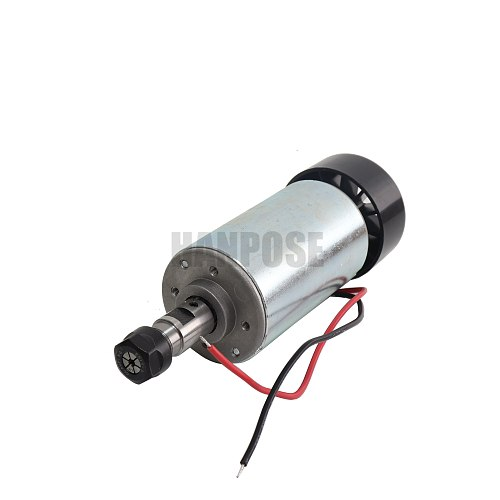 Free shipping 0.3KW cnc spindle motor with 13PCS ER11 chuck 300W spindle motor DIY 12-48 300w dc motor for PCB milling machine