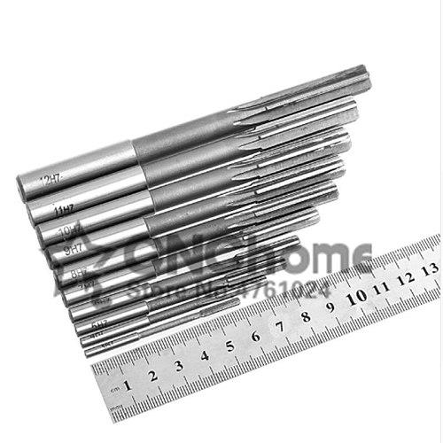 1PCS 2-20mm HSS H7 Reamer Machine HSS Straight Shank Milling Reamer Chucking Reamer(2mm/5mm6mm/8mm/10mm/12mm14mm/16mm18mm/20mm)