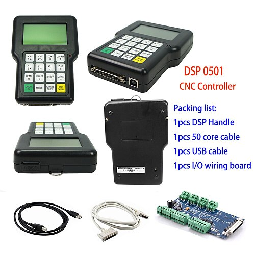 0501 DSP Controller 3axis control card system 3 Axis USB Remote Controller for CNC router handle remote English version