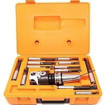 High precision 2 inch F1-12-50mm boring head, spindle MT2 MT3 MT4 NT BT 30 40 R8 9pcs carbide 12mm boring tool boring rod set