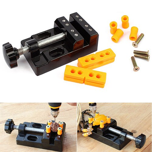 1 Pc 57mm Multi-Purpose Drill Press Vice Carving Tools Machine Accessories Bench Clamp Drill Press Table Vise DIY Aluminum Alloy