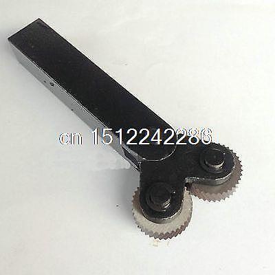 Diagonal 0.8mm Pitch 8mm(ID)*28mm(OD)*8mm(H) Wheel Knurling Linear Knurl Tool