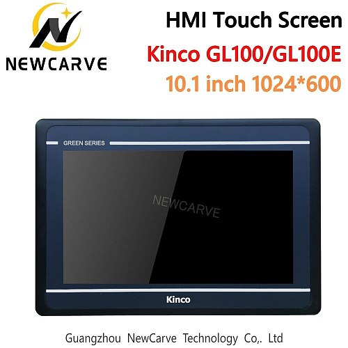 Kinco GL100 GL100E HMI Touch Screen 10.1 Inch 1024*600 Ethernet USB Host New Human Machine Interface RS232 RS422 RS485 Newcarve