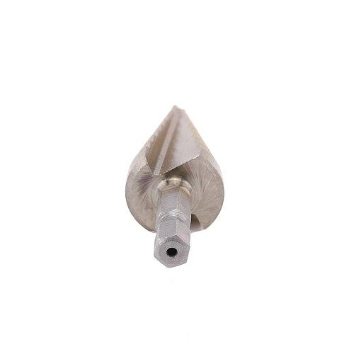 12//20/32mm Multi-purpose  HSS Triangle handle straight groove step drill titanium plating Reamer Iron Aluminum knife