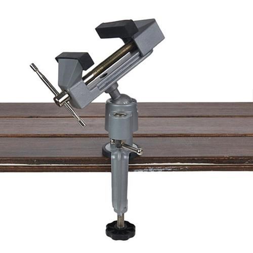 Multinational Vise 2 in 1 Mini Table Vise Bench Vice Aluminium Alloy 360 Degree Rotating Universal Vise Precise Vise Clamp