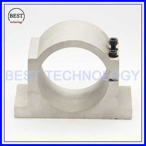 100mm cast aluminium bracket  FOR cnc spindle motor for engraving milling machine spindle clamp cnc machine tool spindle