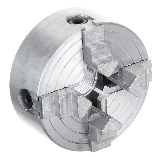 Z011A 4 Jaw Chuck for Metal Mini Lathe M12 Thread 1.8~56mm/12~65mm Mini Collet Lathe Accessory