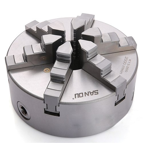 SAN OU K13 Series(Single Positive Claw) K13-100/100mm Self-centering Six Slope Jaws Chuck