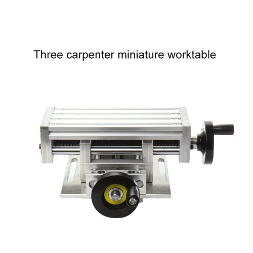Multifunction Worktable Milling Working Cross Table Milling Machine Compound Drilling Slide Table For Bench Drill Adjustment X Y