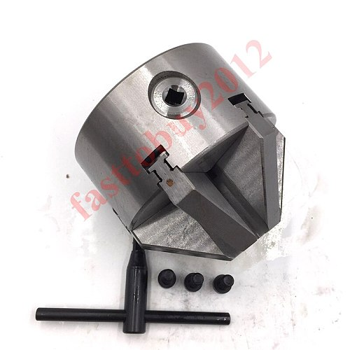 100mm 6 Jaw Lathe Chuck 4'' Six-Jaw Self-Centering Chuck K13-100 for CNC Milling Lathe Machine New