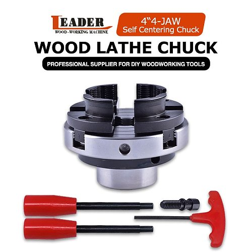 WOODIY 4 inch 100mm 4-jaw self centering Wood Turning Lathe Chuck mini lathe woodworking chucks machine tool accessories