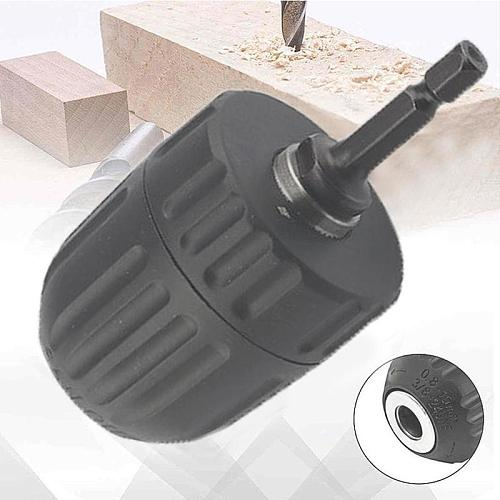 1 Pcs Drill Chuck(included Hex Shank) Suitable For Power Impact Drill 1050w More U6K1