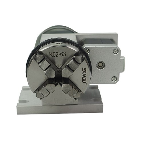 CNC Rotary Axis Kit Chuck 65mm Activity Tailstock 4th Axis 54mm Centre Thimble Tailstock CNC Milling Machine Part Tools