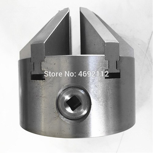 112mm 6Jaw Lathe Chuck Self-Centering 4  Six Jaws Chuck Sloped Jaws K13-100 for CNC Milling Cutting Machine