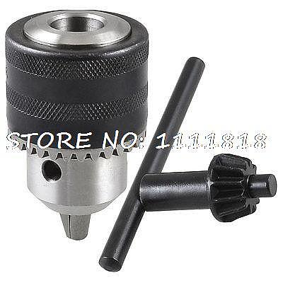 1.5-13mm Capacity Spanner Drill Chuck + Key for Electric Driller