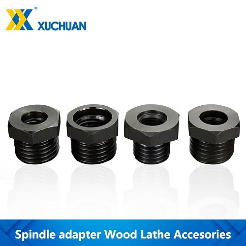 Wood Lathe Chuck Adapter M33x3.5/M18x2.5/1-8TPI/ 3/4''x16 For Woodworking Lathe Accessories Screw Thread Spindle Adapter