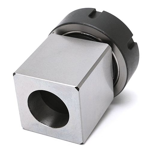 1pc ER-40 Square Collet Block Chuck Holder 3900-5125 For Lathe Engraving Machine For Fast set-ups on CNC Machines