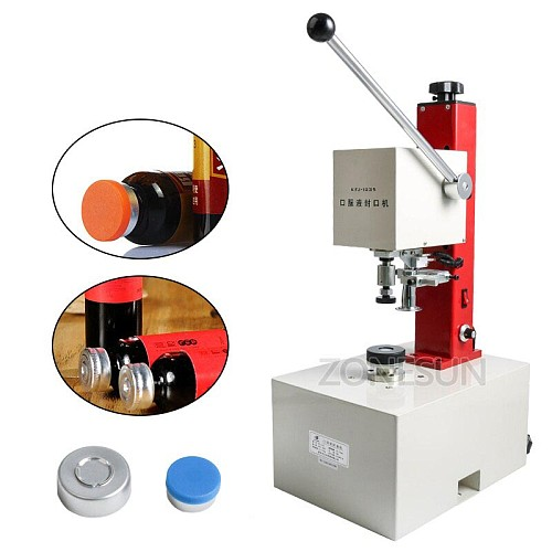 10-35mm penicillin bottle capper, Antibiotics bottle Crimper,perfume oral liquid solution electric capping machine