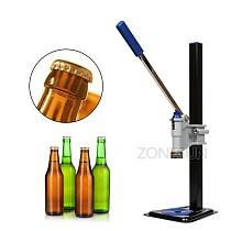 ZONESUN Beer Bottle Capping Machine Manual Beer Lid Sealing Capper Beer Capper Soft Drink Capping Machine Soda Water Capper