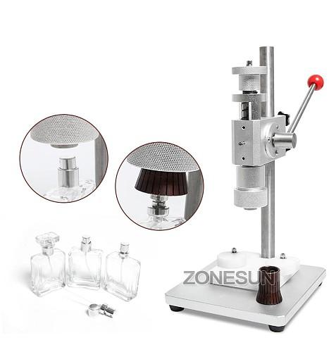 Manual Crimping Machine Perfume Crimper Capper Metal Collar Cap Press Capping Machine Spray Crimper