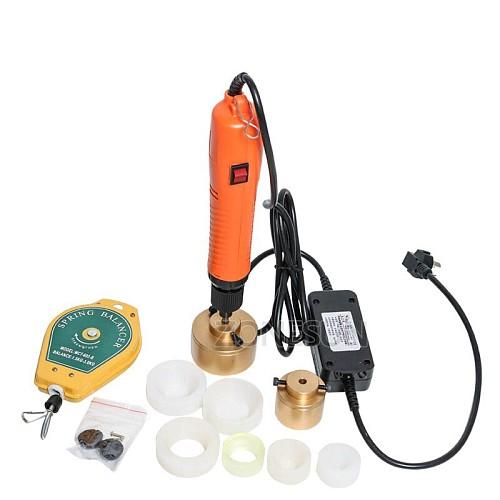 10-50mm Large torque speed adjustable Capping Machine tightener screwing capper plastic bottle