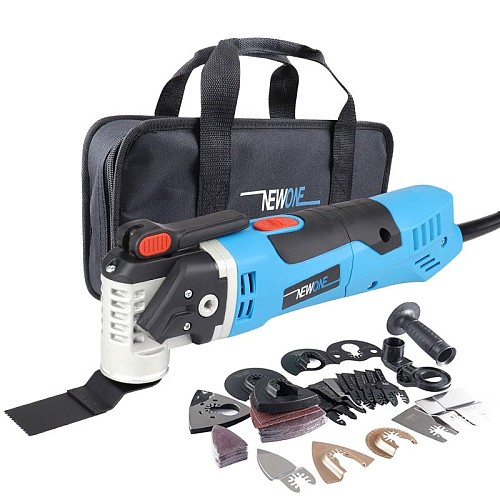 sets Multi-Function Electric Saw Oscillating Trimmer Home Renovator Tool woodworking Tool two colors random delivery