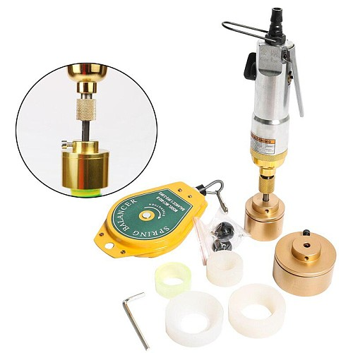 Upgrade Pneumatic bottle capping machine screwing capper platic bottle aircrew driver capper tools