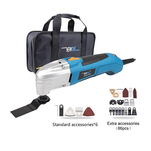 120V/220V Electric Multifunctional Oscillating Tool Kit Multi-Tool Power Tool Electric Trimmer Saw Accessories