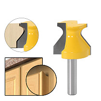 1PC 8mm Shank Door Lip Finger Grip w/ 3/16  Radius Router Bit Trimming Wood Milling Cutter for Woodwork Cutter Power Tools
