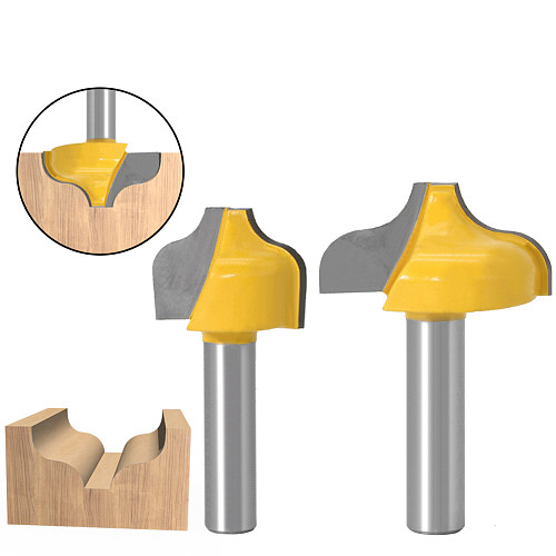 1pc 8mm  Shank SchaftOgee Slotting knife Nut Milling Cutter Carving Router Bits for Wood Tool Woodworking