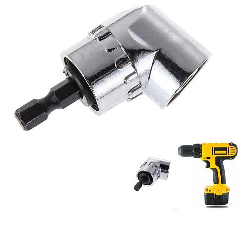 1/4inch Hex Bit Socket 105 Degree Angle Screwdriver Set Socket Holder Adapter Adjustable Bits Drill Bit Angle Screw Driver Tool