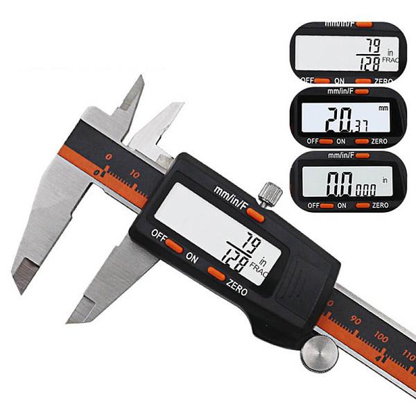 Electronic Caliper Vernier Digital Calipers Gauge Stainless Meter Foot Caliber tool Measurement 6 inch Ruler pachometer