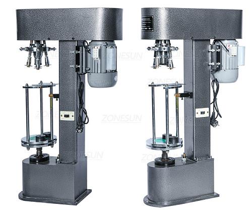 D-type Metal Theft Proof Cap Locking Machine Capping Machine Easy Operation Capper Sealer Aluminum Cap Crimping  Machine