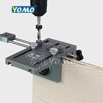 3 in 1 punch positioner Dowel drill kit for Furniture Fast Connecting Woodworking Drilling Guide Kit Location
