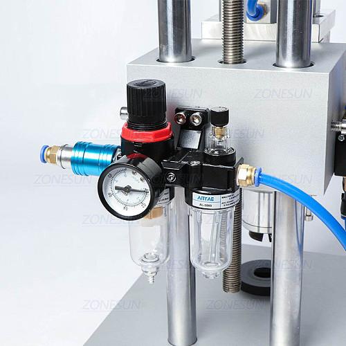 Pneumatic Capping Machine Oral Liquid Penicillin Bottle Capper Aluminum Glass Vial Crimper Machine