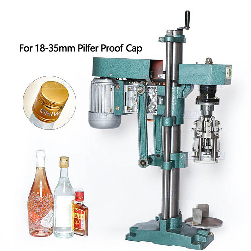 ROPP Cap Crimping Machine Soybean Sauce Wine Soda Water Bottle Pilfer Proof Capping Machine Food Packing Machine