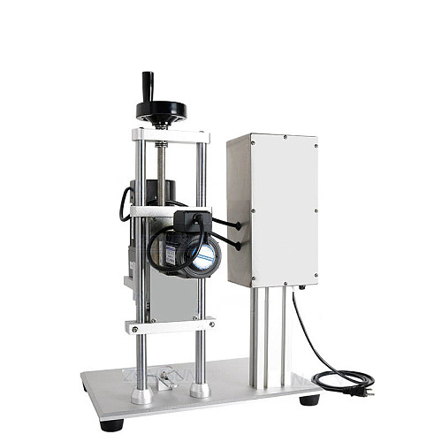 Semi-Auto Bottle Cap Screw Capping Machine Bottle Capper Sealer Electric Capping Tool Cola Soft Drink Bottle Chuck
