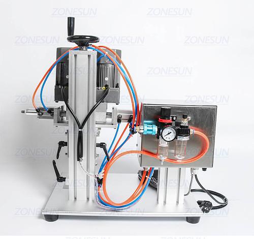 E-juice E-liquid Desktop Trigge Cap Capper Twist Glass Dropper Spout  Capping Machine