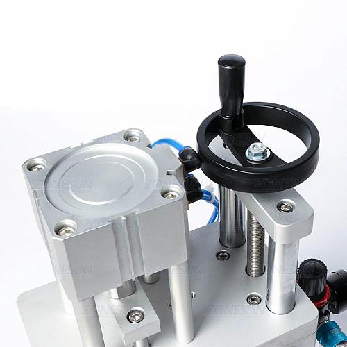 Pneumatic Perfume Oral Liquid Penicillin Injectable Bottle Capper Aluminum Plastic Glass Vial Crimper Capping Machine