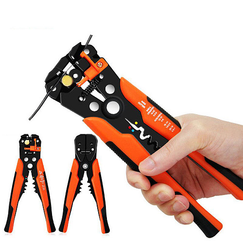 Crimping Tool Wire Stripper Hand Tools Plier Cable Cutter Wire Stripping Crimping Pliers Terminal Atomatic Peeling Pliers