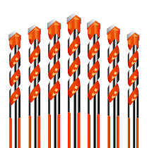 Threaded triangle tungsten steel wall tile concrete drilling bit Household marble Overlord drill Hand electric drill