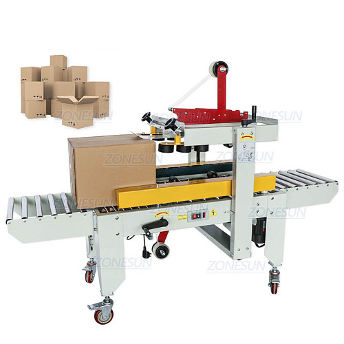 Automatic Carton Sealer Carton Sealing Machine Adhesive Tape Box Case Both Sides of the Conveyor Package Machine