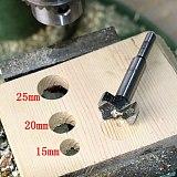 15-35mm Forstner Auger Drill Bit Set Round Shank Wood Tools Forstner Tips Hinge Boring Woodworking Hole Saw Cutter Hand Tool