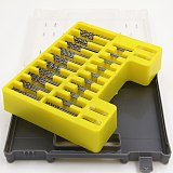 0.4mm-3.2mm 150Pcs set  Mini twist drill Bit Kit HSS Micro Precision Twist Drill with Carry Case Drilling Tool